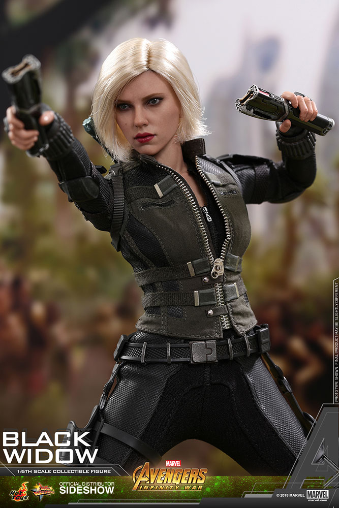 NEW PRODUCT: BLACK WIDOW AVENGERS: INFINITY WAR (HOT TOYS) Marvel20