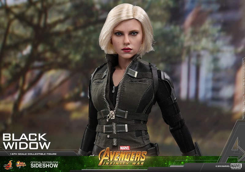 NEW PRODUCT: BLACK WIDOW AVENGERS: INFINITY WAR (HOT TOYS) Marvel21