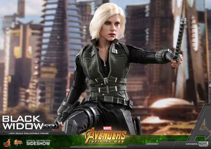 NEW PRODUCT: BLACK WIDOW AVENGERS: INFINITY WAR (HOT TOYS) Marvel22