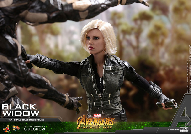 NEW PRODUCT: BLACK WIDOW AVENGERS: INFINITY WAR (HOT TOYS) Marvel23