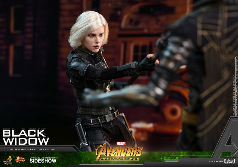 NEW PRODUCT: BLACK WIDOW AVENGERS: INFINITY WAR (HOT TOYS) Marvel24