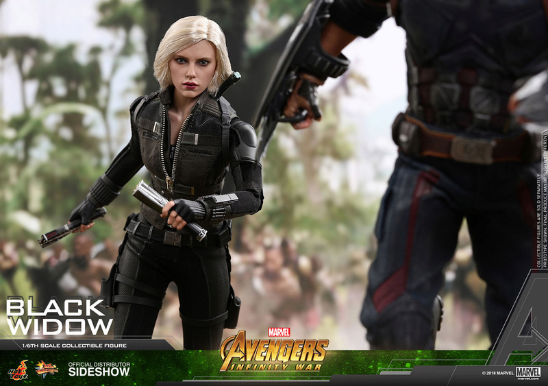 NEW PRODUCT: BLACK WIDOW AVENGERS: INFINITY WAR (HOT TOYS) Marvel25
