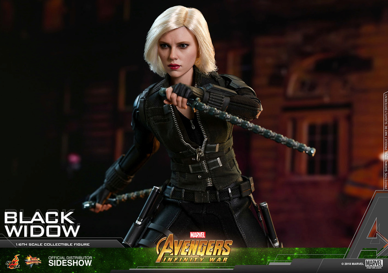 NEW PRODUCT: BLACK WIDOW AVENGERS: INFINITY WAR (HOT TOYS) Marvel26