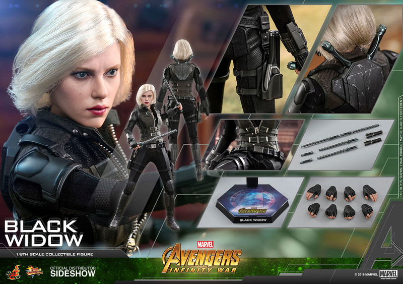 NEW PRODUCT: BLACK WIDOW AVENGERS: INFINITY WAR (HOT TOYS) Marvel27