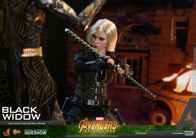NEW PRODUCT: BLACK WIDOW AVENGERS: INFINITY WAR (HOT TOYS) Marvel28