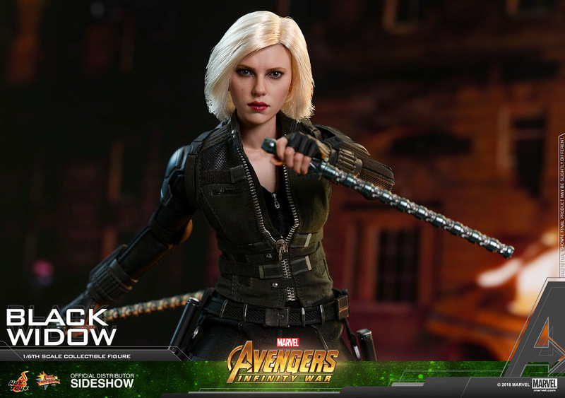 NEW PRODUCT: BLACK WIDOW AVENGERS: INFINITY WAR (HOT TOYS) Marvel29
