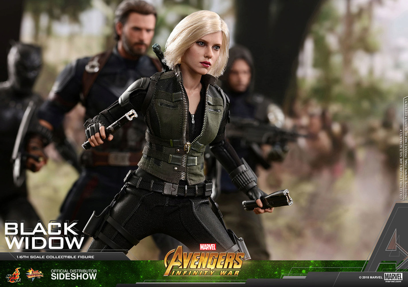 NEW PRODUCT: BLACK WIDOW AVENGERS: INFINITY WAR (HOT TOYS) Marvel30