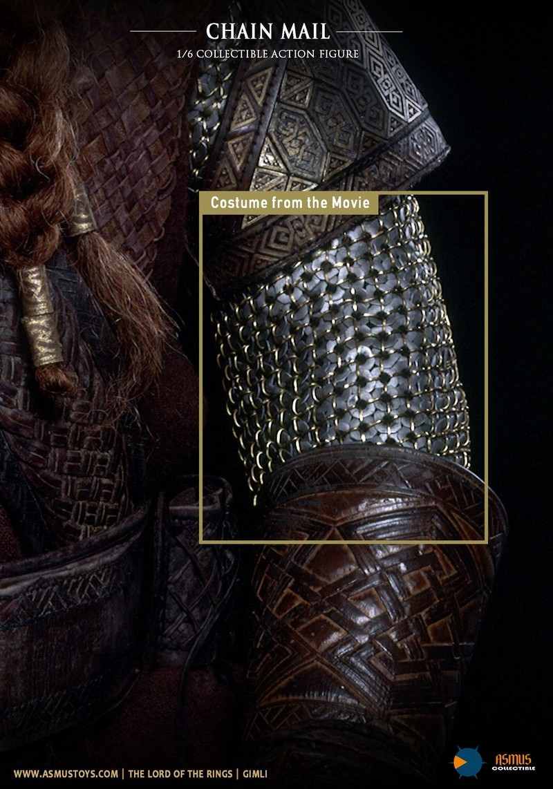 asmus - NEW PRODUCT: Asmus Toys The Lord of the Rings Series: Gimli (LOTR018) Qqayu213