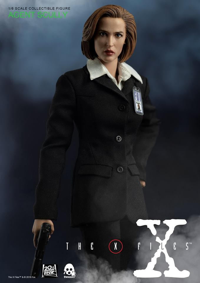 scifi - NEW PRODUCT: Threezero: The X-Files: Agent Dana Scully 1/6 scale collectible figure (Updated 5/4/18) Threez11