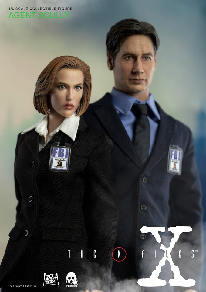 scifi - NEW PRODUCT: Threezero: The X-Files: Agent Dana Scully 1/6 scale collectible figure (Updated 5/4/18) Threez12