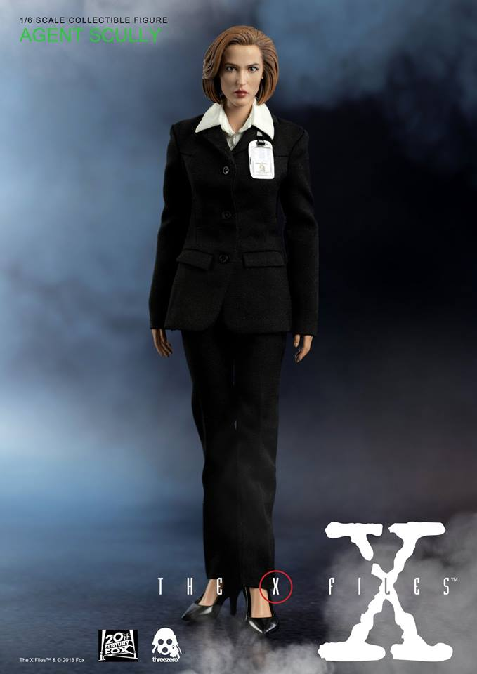 scifi - NEW PRODUCT: Threezero: The X-Files: Agent Dana Scully 1/6 scale collectible figure (Updated 5/4/18) Threez13