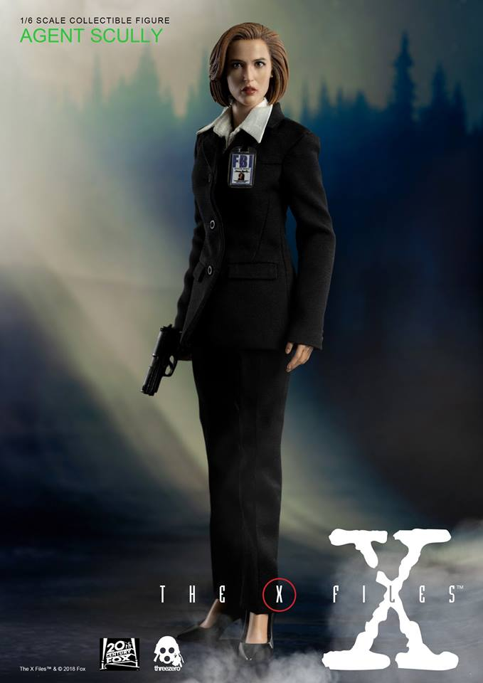 scifi - NEW PRODUCT: Threezero: The X-Files: Agent Dana Scully 1/6 scale collectible figure (Updated 5/4/18) Threez14