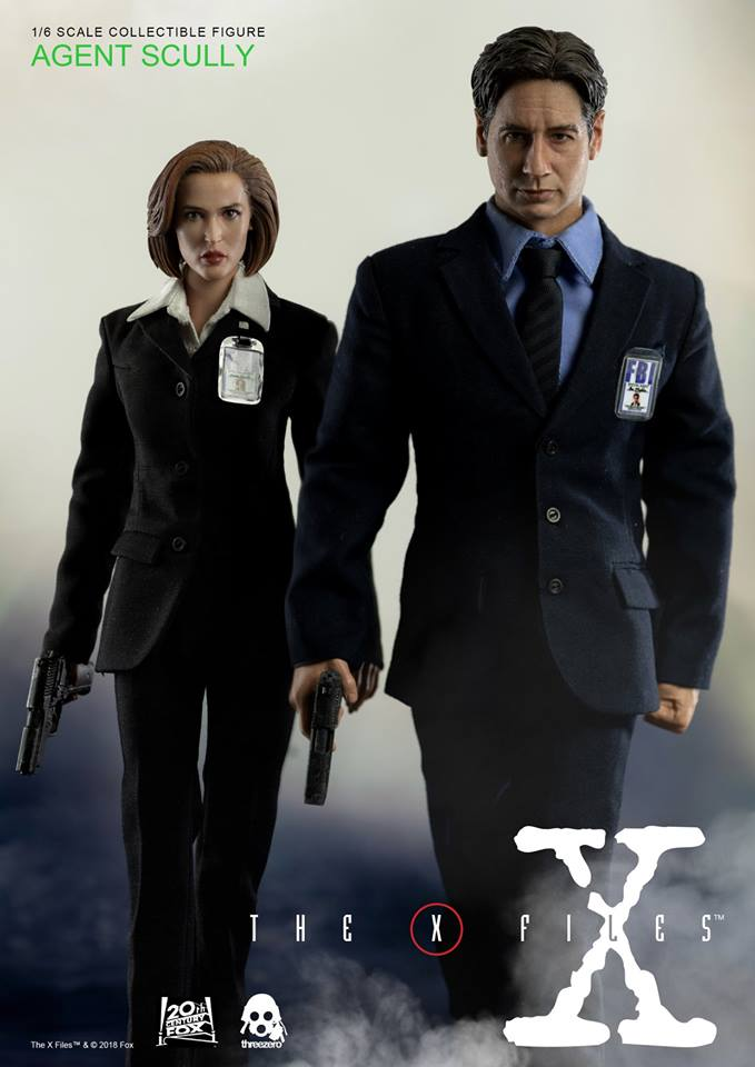 scifi - NEW PRODUCT: Threezero: The X-Files: Agent Dana Scully 1/6 scale collectible figure (Updated 5/4/18) Threez15