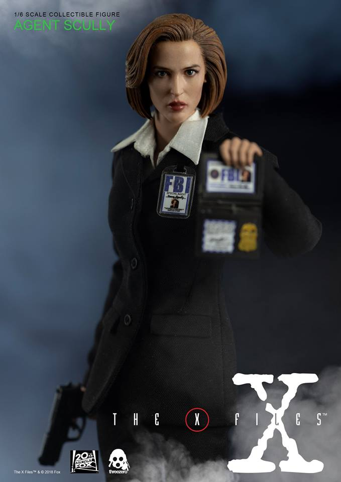 scifi - NEW PRODUCT: Threezero: The X-Files: Agent Dana Scully 1/6 scale collectible figure (Updated 5/4/18) Threez16