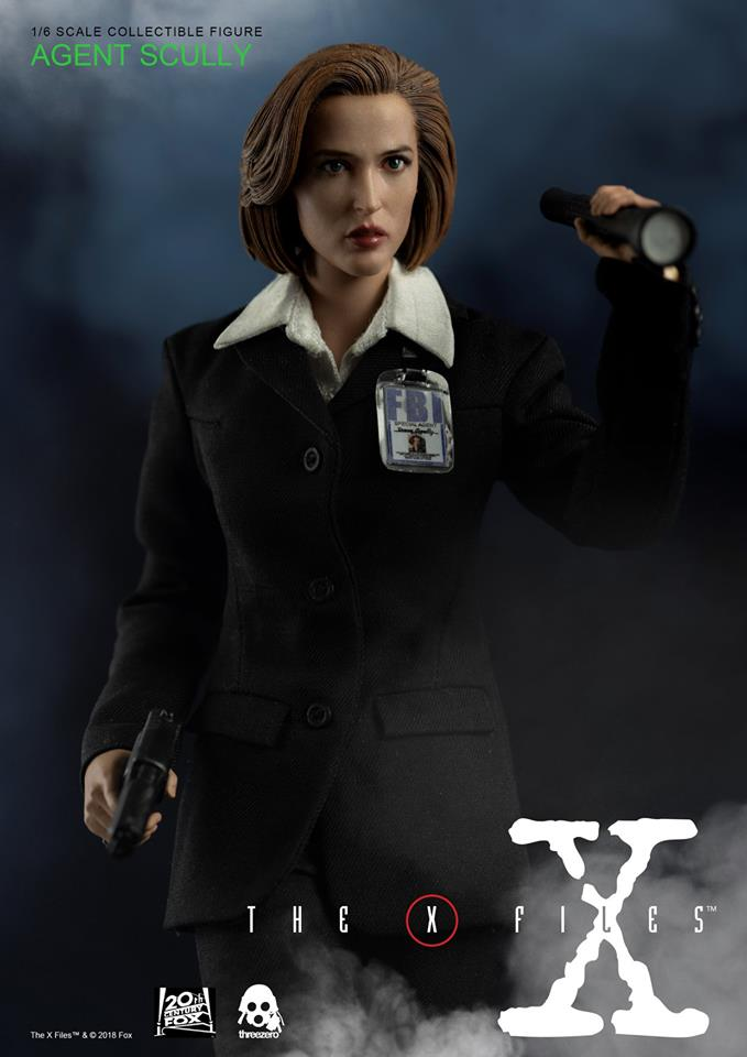 scifi - NEW PRODUCT: Threezero: The X-Files: Agent Dana Scully 1/6 scale collectible figure (Updated 5/4/18) Threez17