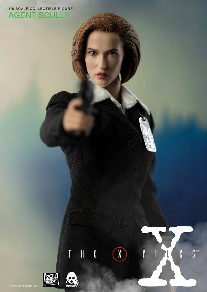 scifi - NEW PRODUCT: Threezero: The X-Files: Agent Dana Scully 1/6 scale collectible figure (Updated 5/4/18) Threez18