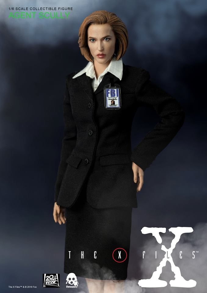 scifi - NEW PRODUCT: Threezero: The X-Files: Agent Dana Scully 1/6 scale collectible figure (Updated 5/4/18) Threez19