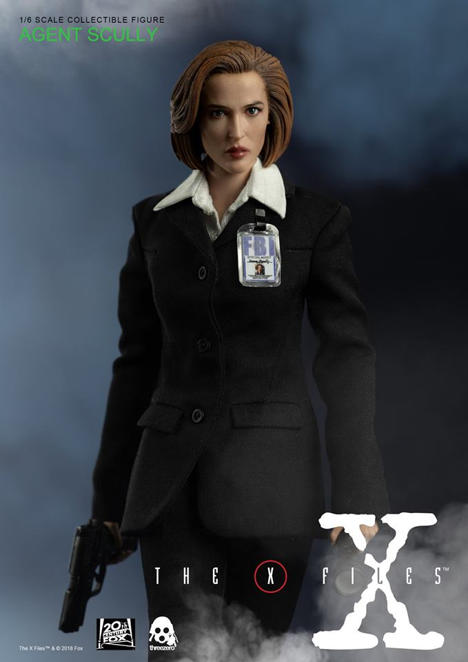 scifi - NEW PRODUCT: Threezero: The X-Files: Agent Dana Scully 1/6 scale collectible figure (Updated 5/4/18) Threez20