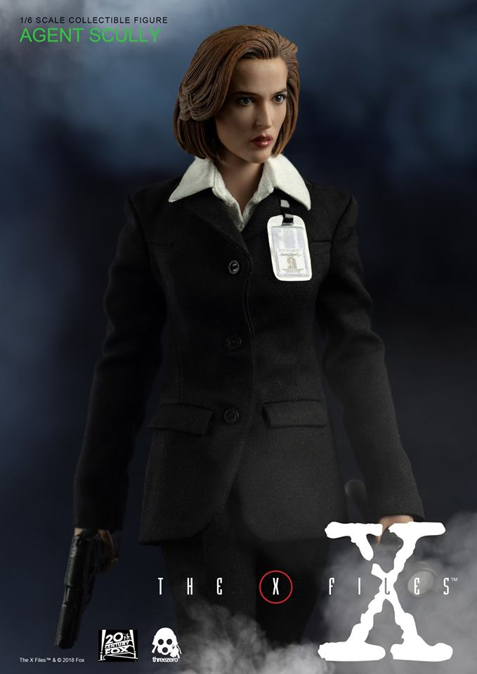 scifi - NEW PRODUCT: Threezero: The X-Files: Agent Dana Scully 1/6 scale collectible figure (Updated 5/4/18) Threez21