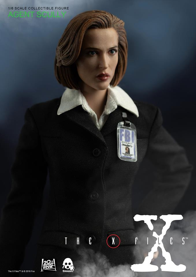 scifi - NEW PRODUCT: Threezero: The X-Files: Agent Dana Scully 1/6 scale collectible figure (Updated 5/4/18) Threez22