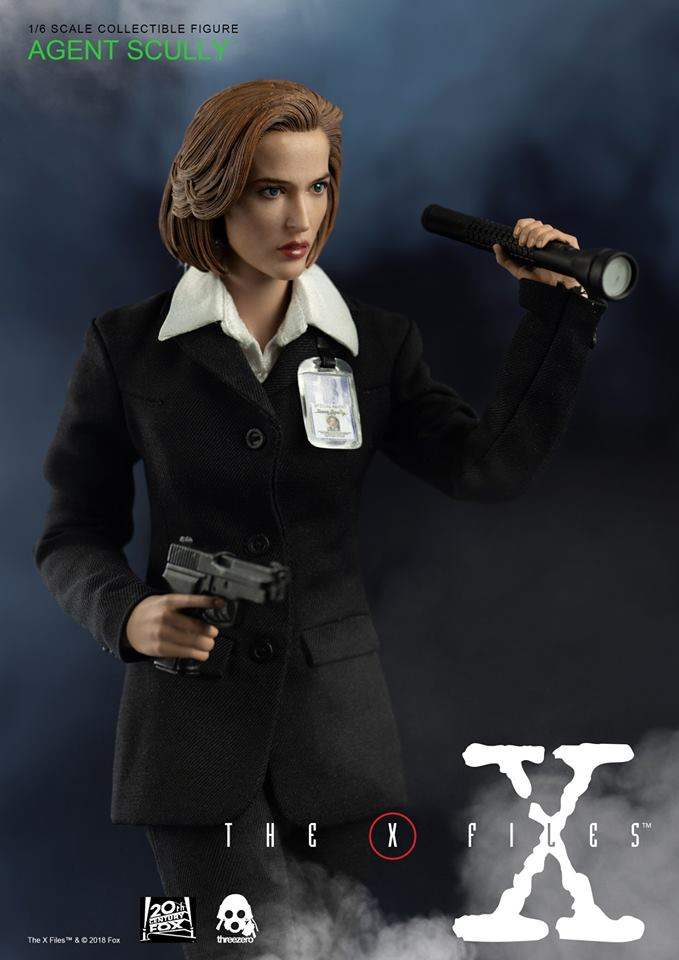 scifi - NEW PRODUCT: Threezero: The X-Files: Agent Dana Scully 1/6 scale collectible figure (Updated 5/4/18) Threez23