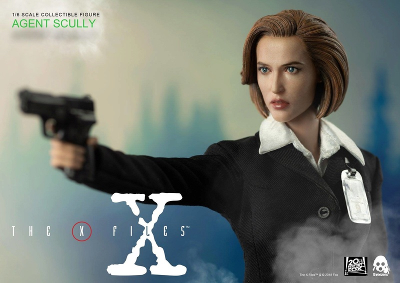 scifi - NEW PRODUCT: Threezero: The X-Files: Agent Dana Scully 1/6 scale collectible figure (Updated 5/4/18) Threez24
