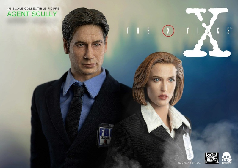 scifi - NEW PRODUCT: Threezero: The X-Files: Agent Dana Scully 1/6 scale collectible figure (Updated 5/4/18) Threez25