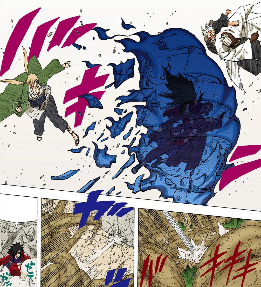 Tsunade VS Sasuke MS. 029-0310