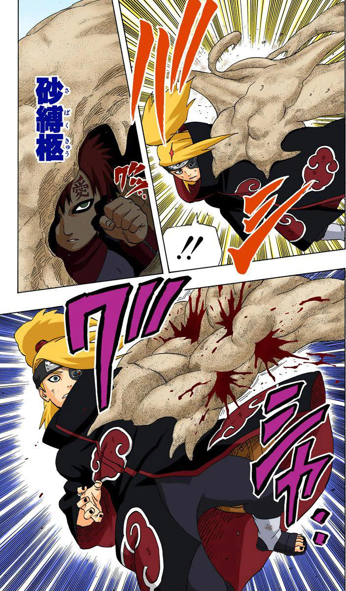 Gaara (Início do Shippuden) vs. Sasuke (Hebi) 08610