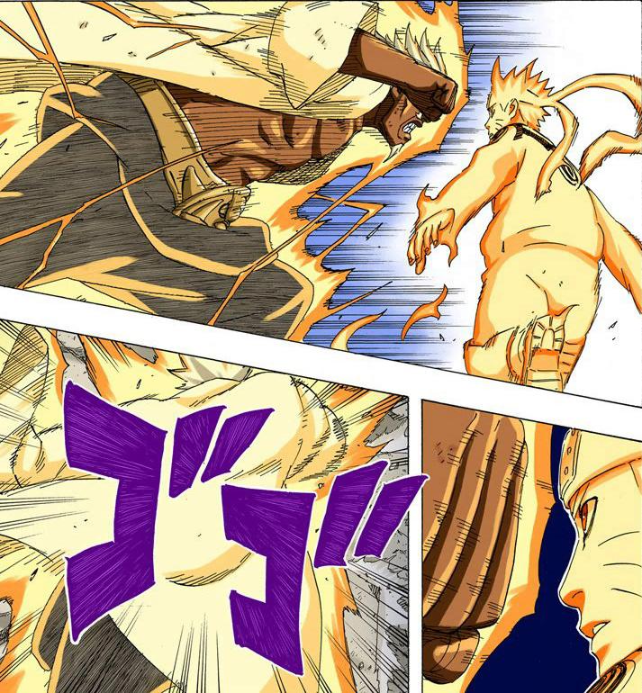 Super força é útil contra mantos de chakra! 18010
