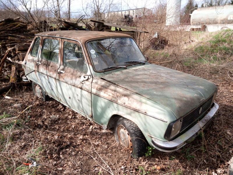 Donne voiture pour pièces,  je n'ose pas vraiment la vendre vu l'État  15225011
