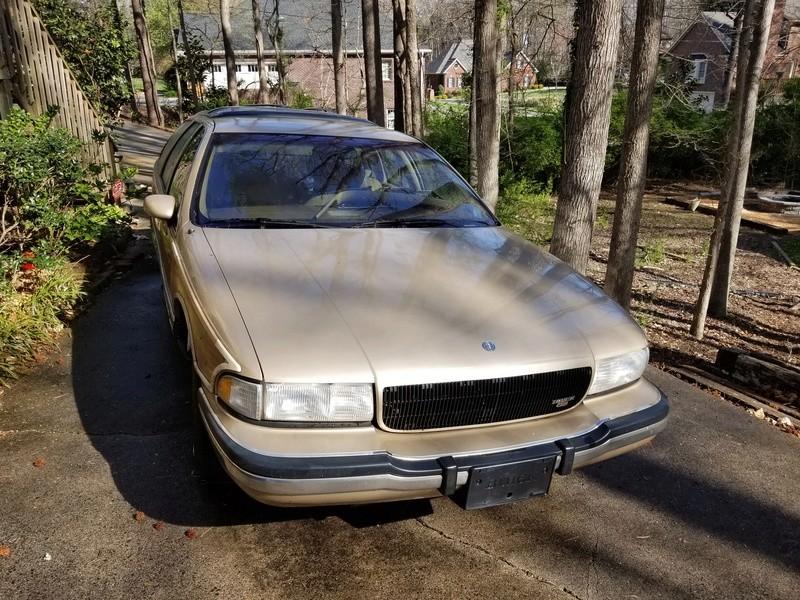 1994 RMW Sandstone/Gold parts car 20180411