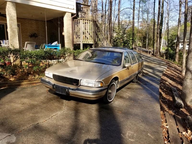 1994 RMW Sandstone/Gold parts car 20180412