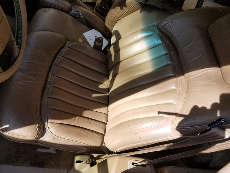 1994 RMW Sandstone/Gold parts car 20180418