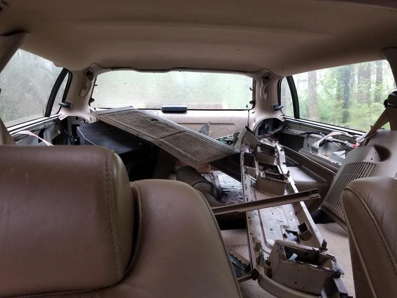 1994 RMW Sandstone/Gold parts car 20180419