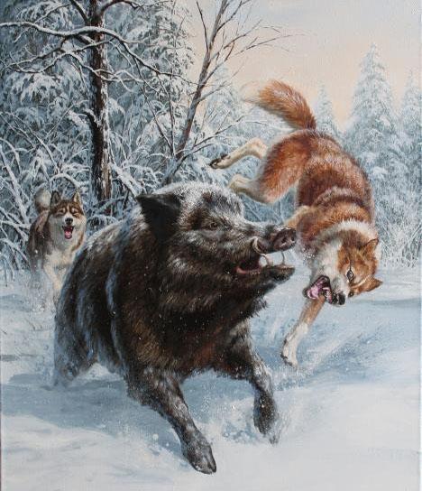 25.01.1254. На ловца и зверь бежит. 97745710