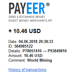 [Risco - Provado] World Mining - Mineradora de criptomoedas certificada em Inglaterra que aluga contratos para mineração Pag11