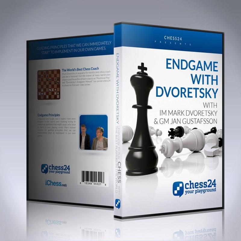 Endgames with Dvoretsky by IM Mark Dvoretsky and GM Jan Gustafsson 44551310