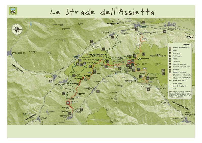 Piemonte (TO) - Road Book Assietta Peak Trail Road_b10