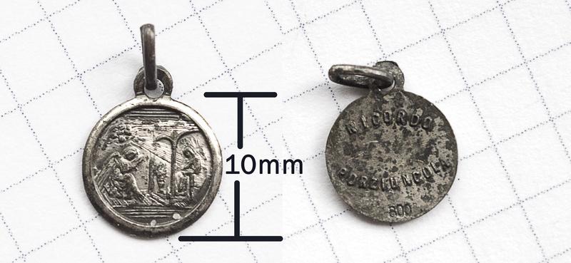 Medalla italiana de la anunciación Anunci10