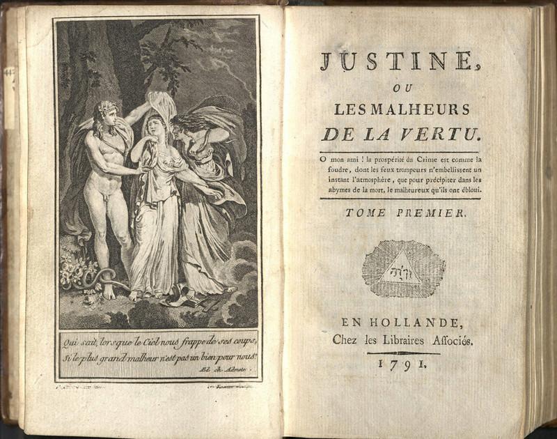 Justine ou Les Malheurs de la Vertu - Le Marquis de Sade Sade_110