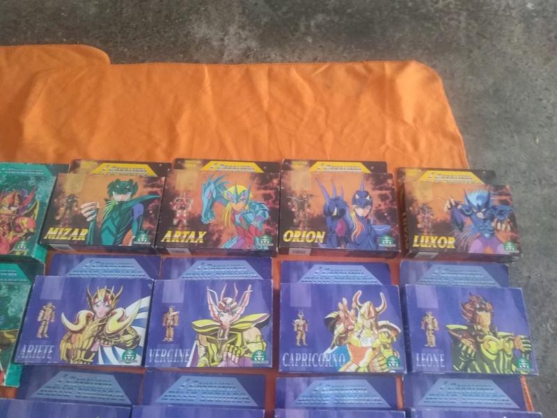 Cavalieri - collezione completa cavalieri dello zodiaco vintage giochi preziosi Img_2017