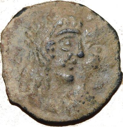 AE17 de Rabbel II y Gamilat. Reino de los Nabateos. 43010
