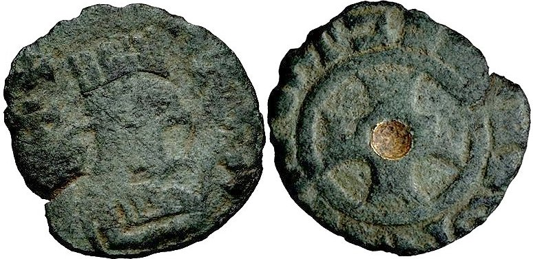 Reino de Axum (Aksum). Æ 15, Rey Ebana, Ca 430-460 d.C.  51110