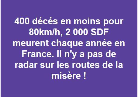 Limitation de vitesse à 80km/h: une expérimentation pour deux ans - Page 2 Radar_11