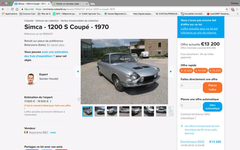 1200S a vendre sur Catawiki Captur10