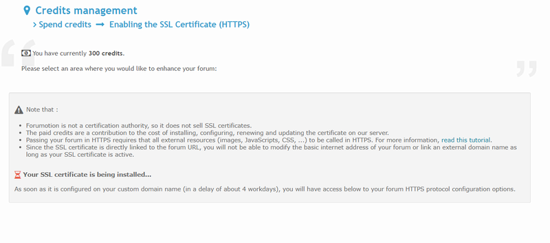 SSL doesn't work anymore after domain works Faq16