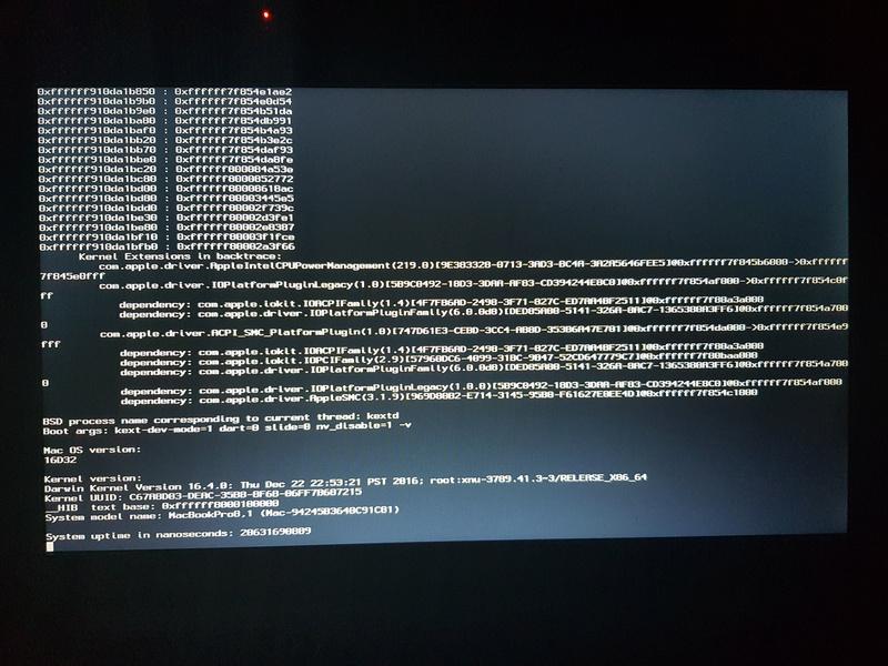 OsX sur Toshiba Sattelite Pro C660-2CM 20180411
