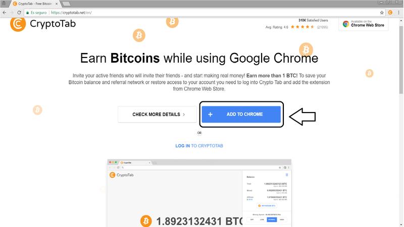 Script de google chrome para ganar satoshis (con prueba de pago)