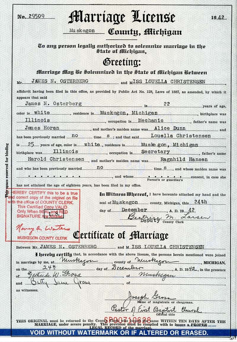 Iggy's Parents marriage certificate Osterb12